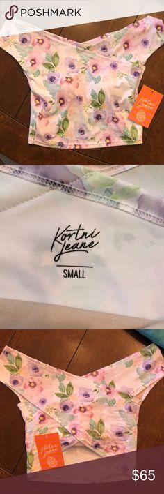 Kortni Jeane small top NWT.   Never worn Kortni Jeane Swim