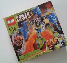 New Lego Power Miners 8189 Magma Mech SEALED Set 673419129992   eBay
