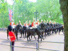 The Buckingham Palace, London, UK