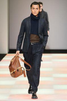 Emporio Armani - Fall 2015 Menswear - Look 49 of 60