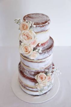 Sweet Bakes ~ Wedding Cakes, Cookies and other Sweet Treats - Mon Cheri Bridals Unique Wedding Cakes, Beautiful Wedding Cakes, Beautiful Cakes, Amazing Cakes, Wedding Cake Cookies, Cake Wedding, Shabby Chic Cakes, Wedding Cake Inspiration, Wedding Ideas