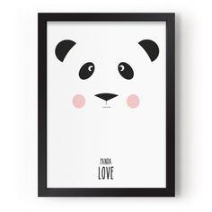 "Lámina ""Panda Love"" en decoandkids (agotada)"