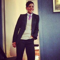 Dapper, Pink Tie  http://www.brinkoties.com/products/pink-mens-skinny-tie-harleston