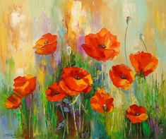 Buy Poppies, Oil painting by Olha Darchuk on Artfinder. Discover thousands of other original paintings, prints, sculptures and photography from independent artists.