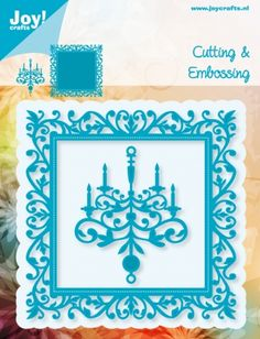 Joy Crafts Square and Chandelier Square Chandelier, Spellbinders Cards, Colouring Pages, Clear Stamps, Die Cutting, Stencils, Happy Birthday, Scrapbooking, Joy