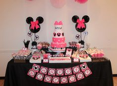 Personalized Custom Minnie Mouse 1st Birthday by GrandMarshGifts