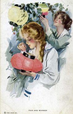 Открыка 1910-х годов