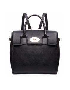 THE BACKPACK | SATCHEL BLACK @ IWSBS.com