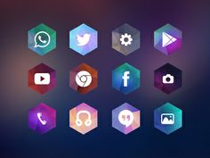 Hexagon Android Icon Theme