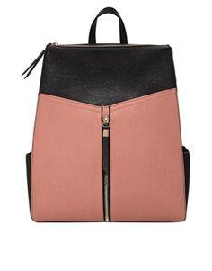 41e4fbda6a6f New Look Xhatch Formal Backpack at asos.com