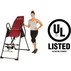 Fitness Reality 790XLT High Endurance Inversion Table with Lower Back Cushion Review