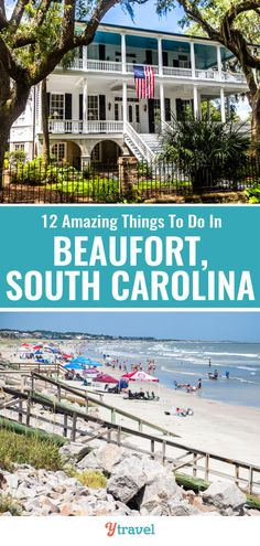 Don't Miss Things to Do in Beaufort SC (  where to stay) Road Trip Destinations, Vacation Trips, Vacations, Around The World In 80 Days, Travel Around The World, Grand Teton National Park, National Parks, Cool Places To Visit, Places To Go