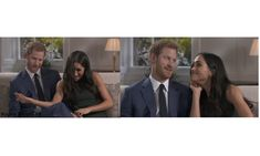 On the day of their November 27 engagement announcement, Harry and Meghan sat down for their first joint interview with the BBC. While the televised chat was newsworthy of course, we loved the outtakes that showed the funnier side of the new royal couple.
