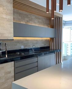 Some Kitchen Views❣️ Good food and a warm kitchen are what makes a house a home. Kitchen Room Design, Luxury Kitchen Design, Kitchen Cabinet Design, Home Decor Kitchen, Interior Design Kitchen, House Paint Interior, Luxury Kitchens, Küchen Design, House Design