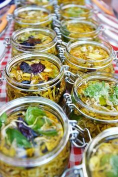 Маринованные баклажаны по-сицилийски (сырые): ox_studio Preserves, Pasta Salad, Pickles, Cucumber, Stuffed Mushrooms, Beans, Food And Drink, Homemade, Vegetables