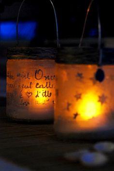 DIY etched jars again.  I'm liking this, and it's easy and cheap!