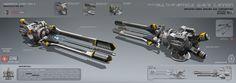 Multi-particle wave cannon, Alexey Pyatov on ArtStation at http://www.artstation.com/artwork/multi-particle-wave-cannon-f594b083-92cb-48fe-9417-19180d78fd8c