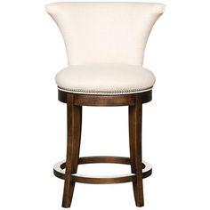 Vanguard Furniture Jinx Pearl Avery Swivel Counter Stool