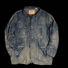 Levi Sac coat, denim vintage style