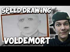 Speed Drawing Voldemort