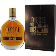 Diesel Fuel For Life Spirit By Diesel Edt Spray 2.5 Oz