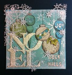 """Its beginning to look a lot like Christmas...."" {with JOFY stamps by Jo Firth-Young }"