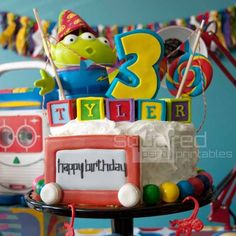 Toy Story Birthday Party - Spaceships and Laser Beams