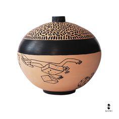 Classicism for tomorrow!  Vase, @DAlba01 , pen On Terracotta.  #kiasmo #vases #designer #vincenzodalba #terracotta #handmade #elledecor #pen #collection #horrorvacui #howtospendit #vogue #archeologia #disegno #etruschi #ceramic #archiproducts #arte #odissea #lecce #magnagrecia #domus #domusweb #grecia #detail #gallery #natural #creative #decoration #vase