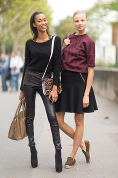 Paris Fashion Week S/S 14 Street Style