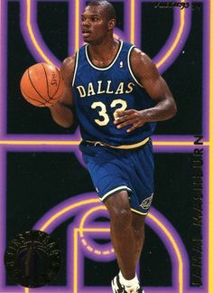 RARE 93/94 FLEER FIRST YEAR PHENOMS JAMAL MASHBURN DALLAS MAVERICKS MINT