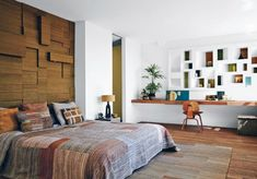 A one-of-a-kind DIY headboard can make a bold statement in your bedroom at a low cost. Not only low cost but also easy to manage. Check these list of simple DIY headboards ideas for inspiration and decor suggest. Modern Headboard, Headboard Designs, Diy Headboards, Modern Bedroom, Bedroom Decor, Headboard Ideas, Custom Headboard, Master Bedroom, Upholstered Headboards