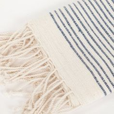 Ribbed Stripe Hand Towel