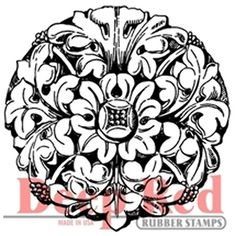 Deep Red Stamps Wrought Iron Medallion Rubber Stamp >>> Check out this great product.