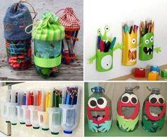botes hechos con botellas de plástico