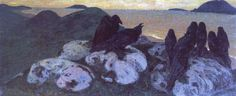 Nicholas Roerich - WikiArt.org Ominous, 1901 Nicholas Roerich - by style - Symbolism