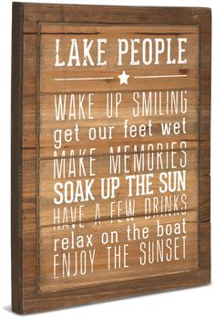 family camping signs - Pavilion Gift Company 67217 We People Lake People Rules Sign, 12 x ** Continue to the product at the image link. (This is an affiliate link) Lake House Signs, Cottage Signs, Lake Signs, Beach Signs, Cabin Signs, Lake Quotes, Beach Quotes, Ocean Quotes, Condo