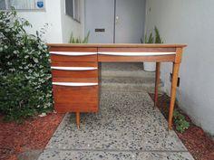 Mid Century Danish Modern Flanders Desk in Lincoln Boulevard & Sunset Avenue, Venice, CA 90291, USA ~ Krrb Classifieds