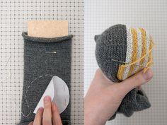 Fixing knit garments when they start to wear thin    Blog | Karen Barbé | Textileria