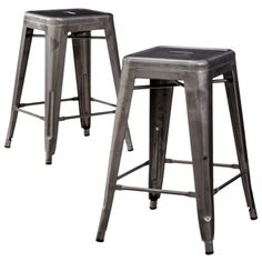 $48 Carlisle Metal Counter Stool from Target (Other colors available) Check height measurement, as it's not listed online.