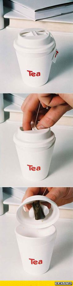 Funny pictures about Clever cup design. Oh, and cool pics about Clever cup design. Also, Clever cup design photos. Smart Packaging, Tea Packaging, Food Packaging Design, Packaging Design Inspiration, Brand Packaging, Innovative Packaging, Smart Design, Clever Design, Cup Design