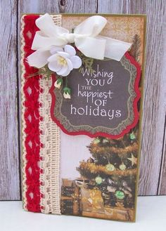 Best of Betsy's - Using Yuletide collection from Kaisercraft