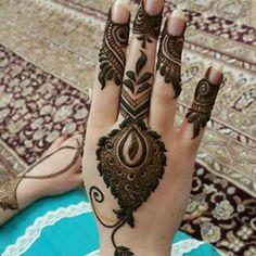 Finger Henna Designs, Unique Mehndi Designs, Beautiful Mehndi Design, Latest Mehndi Designs, Bridal Mehndi Designs, Mehandi Designs, Mehandi Henna, Mehndi Tattoo, Mehendi