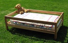 homemade toddler bed