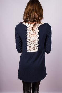 Lace Detail Tunic. Only $23.99 (Orig. $49.99) For a limited time!