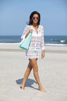 The perfect beach coverup -- Saucy Glossie