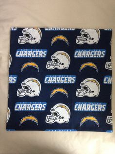 "San Diego ""Chargers"" 16""X16"" Pillow Case/Cover by SportzNutty on Etsy"