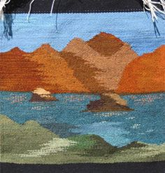 Robin Reider a tapestry weaver from New Mexico