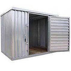 Heavy Duty Galvanized Steel Storage Sheds Modern Outdoor Storage, Outdoor  Bike Storage, Steel Sheds