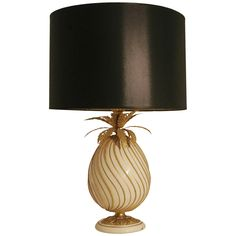 Pineapple Lamp, 1970s France | See more antique and modern Table Lamps at http://www.1stdibs.com/furniture/lighting/table-lamps