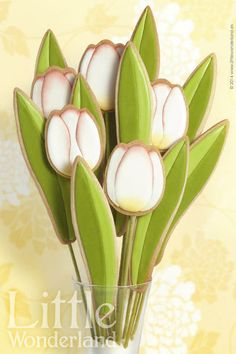 Galletas decoradas especiales para el Día de la Madre: una idea de @Julia M Usher c/o Recipes for a Sweet Life #galletas #receta #DiaDeLaMadre #Mama